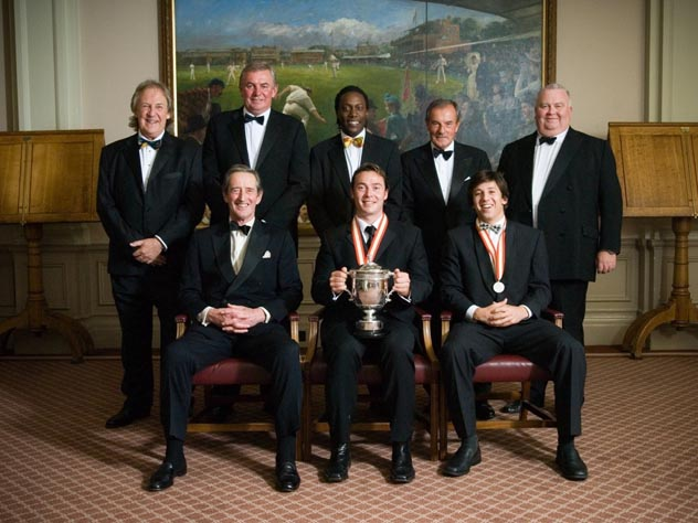 David English, David Graveney, Henry Olonga, Lord MacLaurin, Mark Lawrence, Brian Thornton, Graham Napier, and Akbar Ansari.