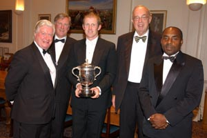 Colin Ingleby-Mackenzie, Charles Fry, Anthony McGrath, Lord Alexander of Weedon, Roland Butcher
