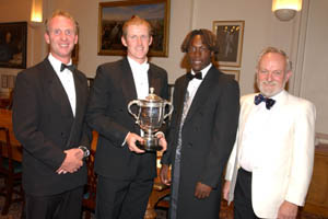 Matthew Fleming, Anthony McGrath, Henry Olonga, Richard Stilgoe