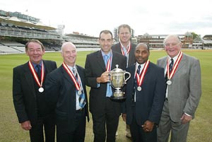 Robin Hobbs, Paul Johnson, Richard Johnson, Tom Moody, Roland Butcher, Tom Graveney