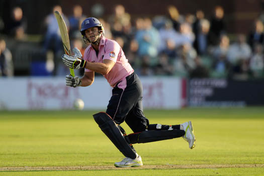 Adam Gilchrist, Middlesex V Kent, FP Twenty20, Friday 11th June 2010, CANTERBURY