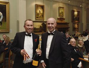 Andrew Sabin and Fraser Stewart